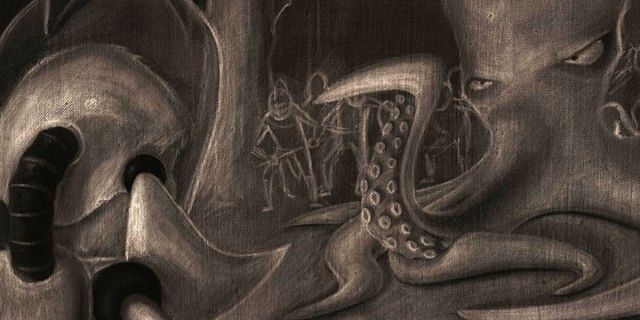 Charcoal of Coo-Thoo-Loo Confronted Stage 2