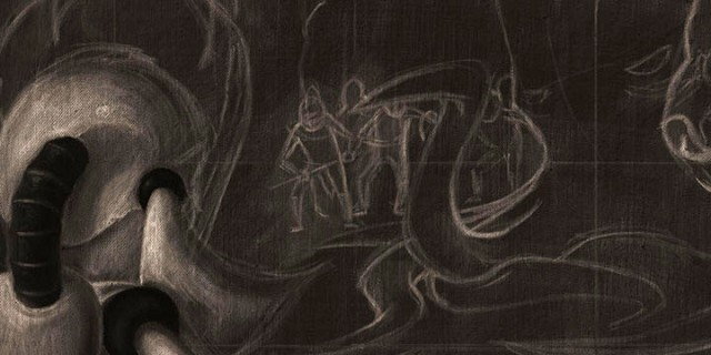 Charcoal of Coo-Thoo-Loo Confronted Stage 1