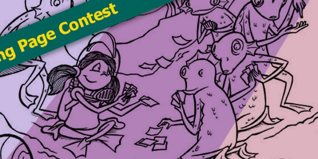 Ruby June Coloring Page Contest