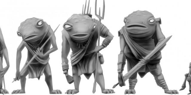 Digital Creatures – Trogolodytes and Bugs