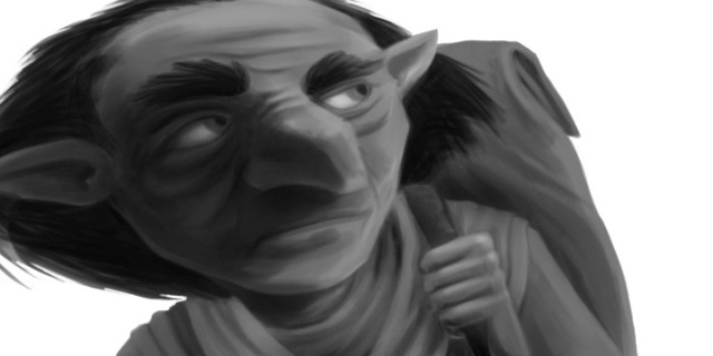 Digital Goblin Illustration