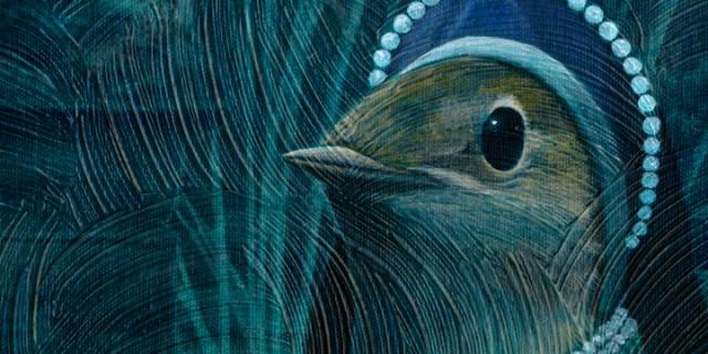Nightingale Painting In Progress