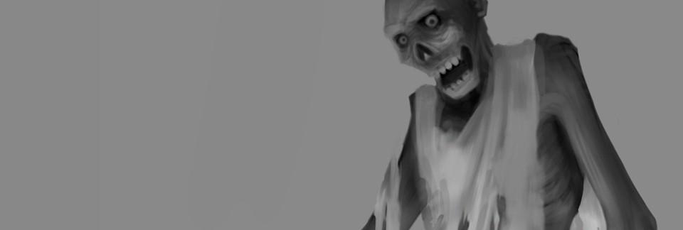 Zombie Digital Illustration