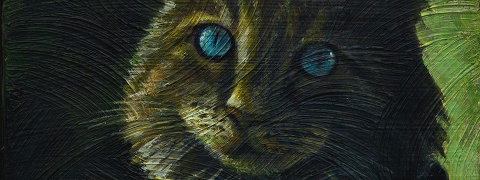 New Cat Painting Completed