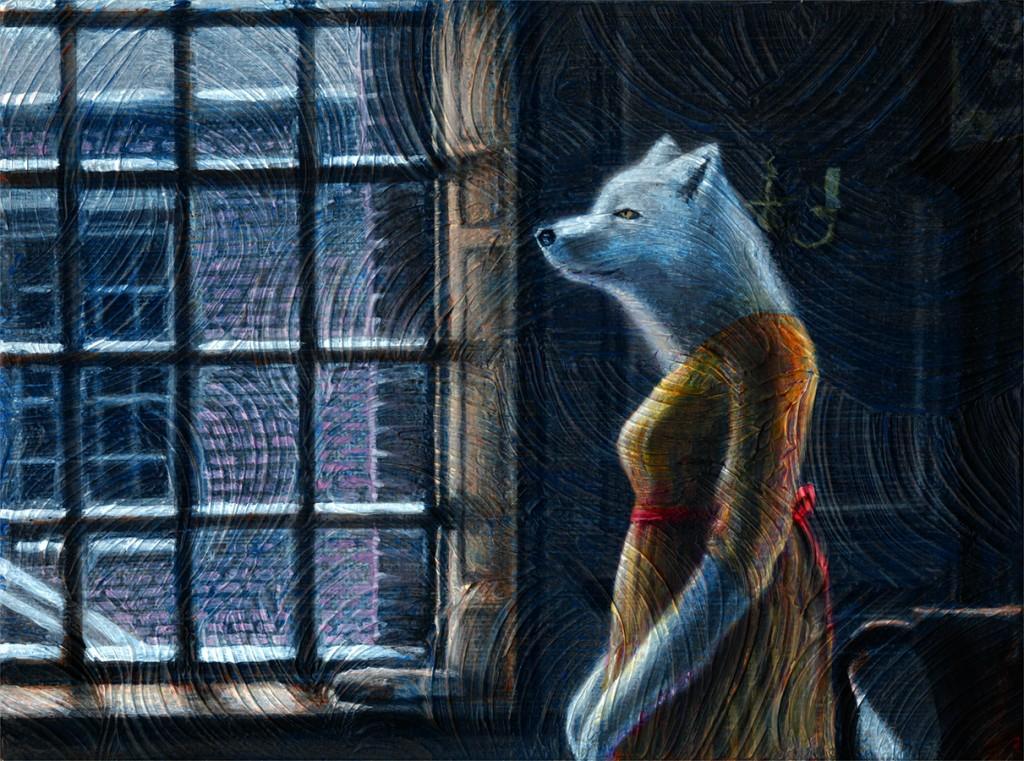 ANIMAL_arcticFox_painting_150_2017_12_25